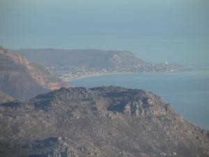Kommetjie from Table Mountain