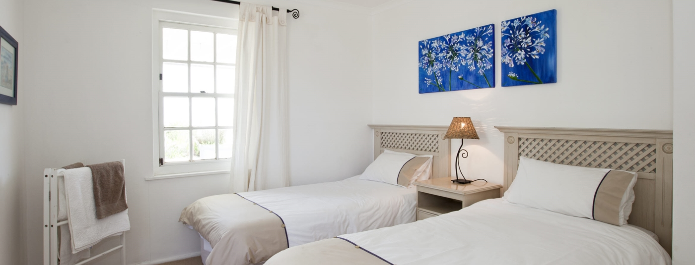 The villa's four bright bedrooms provide an oasis of peace and comfort.